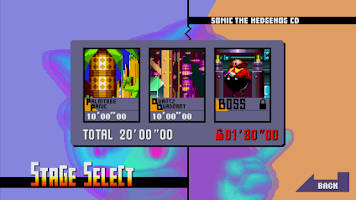 Screenshot of Sonic CD Lite