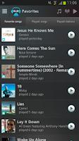 Screenshot of Bibzoom Radio