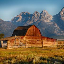 GRANDTETONS II-5.jpg by Jim Kuhn - Landscapes Mountains & Hills
