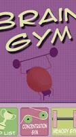 Screenshot of Brain Gym Memory Training