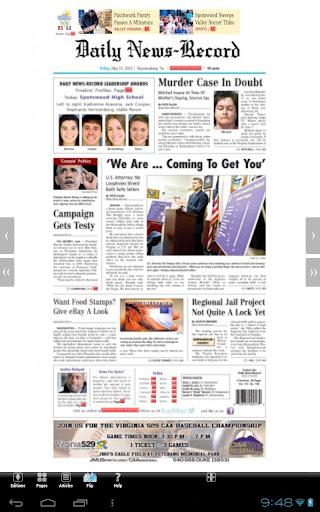 Daily News-Record Digital Repl