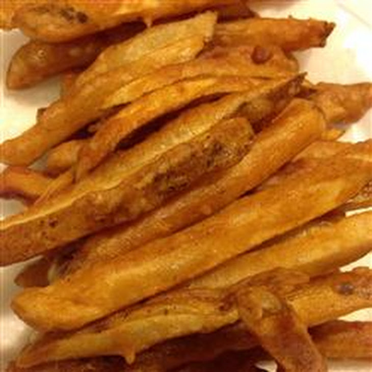 Homemade Crispy Seasoned French Fries Recipe | Yummly