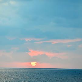 Amazing by Clara Scarano Scubla - Novices Only Landscapes ( blue sky, sunrise )