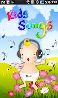 Screenshot of KidsSong
