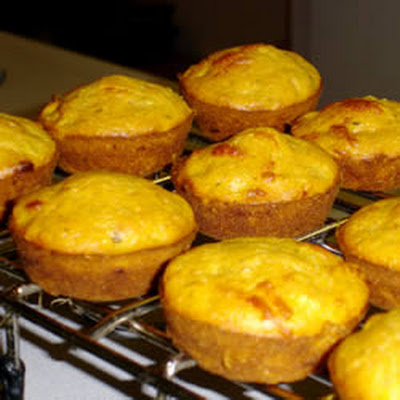 Smoky Corn Muffins