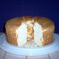 Orange Angel Cake