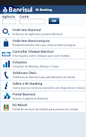 Screenshot of M-Banking Banrisul