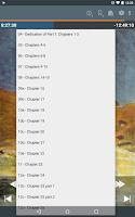 Screenshot of Listen Audiobook Player