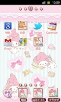 Screenshot of SANRIO CHARACTERS Theme31