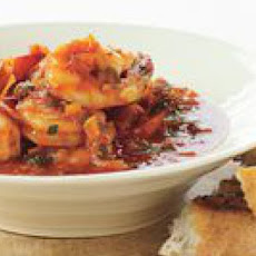 Shrimp with Tarragon and Tomato Sauce