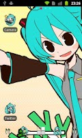 Screenshot of ADW Theme -Miku Hatsune-