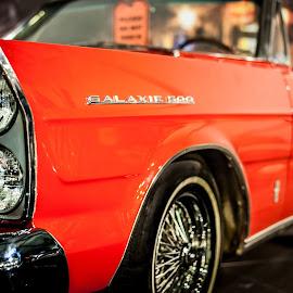 Classic Red by Faizal Maulana - Transportation Automobiles ( old car, stock, cars, automobile, classic )