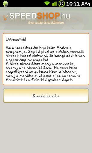 Speedshop.hu RSS olvasó