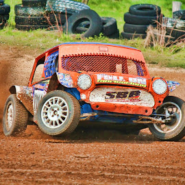 Autograss UK by Paul Rogers - Sports & Fitness Motorsports ( scarborough, autograss, uk, class7 )