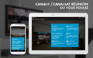 Screenshot of myCANAL Réunion, par CANAL+