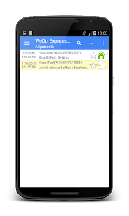 Lastest WeDo Express Auto Tracking APK