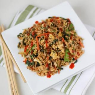 Easy Fried Rice with Asian Veggies