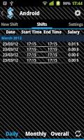 Screenshot of Track My Salary! Free