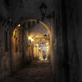by Khuloud Elzwai - City,  Street & Park  Street Scenes