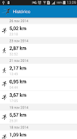 Screenshot of FitTracker Run Walk Cycle GPS