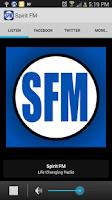 Screenshot of Spirit FM Radio