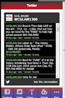 Screenshot of WCGL AM 1360 RADIO STATION