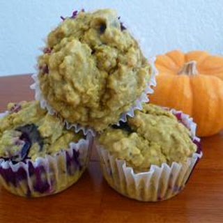 Pumpkin Blueberry Muffins Recipes