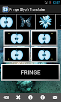 Screenshot of Fringe Glyph Translator
