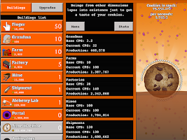 Screenshot of Cookie Tap