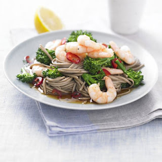 Teriyaki Prawns & Broccoli Noodles