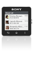 Screenshot of Missed Call smart extension