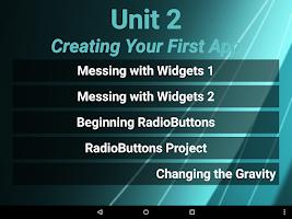 Screenshot of Mobile Application Development