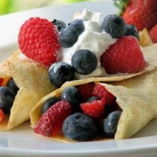 Vanilla Crepes Recipes