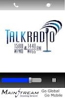 Screenshot of Talk Radio 1580