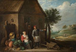 RIJKS: David Teniers (II): painting 1670