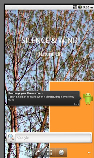Silence Wind Live Wallpaper