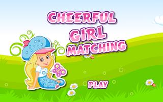 Screenshot of Matching Game-Cheerful Girl