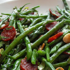 French Bean and Chorizo Salad