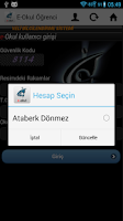 Screenshot of E-Okul Öğrenci - MEB