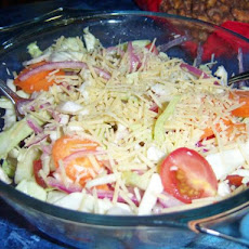 Salad With Parmesan Cheese (Salata Ma Jibna)