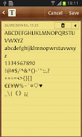 Screenshot of Syndor FlipFont
