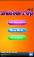 Screenshot of Bubble Pop