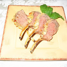 Rack of Lamb With a Honey-Hazelnut Crust
