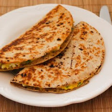 Egg Salad and Cheese Quesadillas