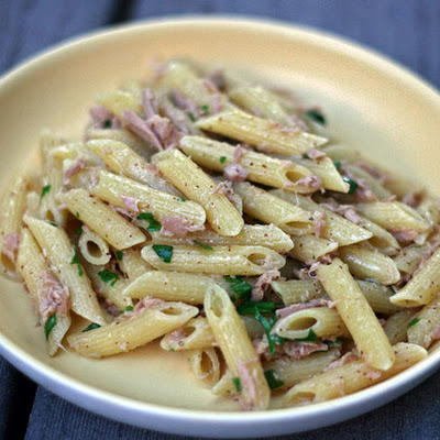 Dinner Tonight: Penne with Tuna and Spicy Mustard