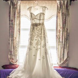 The Dress by Karissa Starcevich - Wedding Getting Ready ( lace, vintage, dress, romance, 1920's )