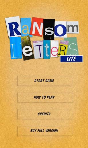 Ransom Letters Lite