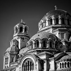 Alexander Nevsky by Glyn Thomas Jones - Buildings & Architecture Places of Worship ( catholic, church, cathedral, worship, sofia, city, bulgaria,  )