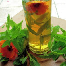 Lemon Verbena and Calendula Vinegar