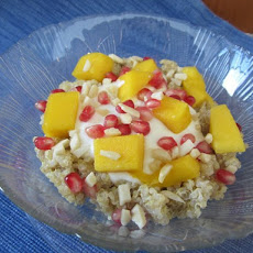 Tropical Quinoa and Fruit Pudding